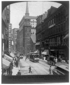 Washington Street and Old South Meeting House, Boston, 1906. (Courtesy Library of Congress.)