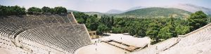 Theater at Epidaurus (Courtesy Wikimedia Commons)