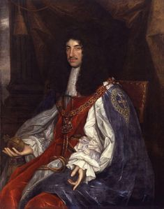 King Charles II, by John Michael Wright or studio (National Portrait Gallery, London, via Wikimedia Commons. Public domain in the US.)