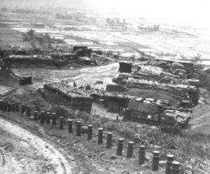 The firebase near Phu Bai, overrun in May 1969 (Courtesy Kentucky National Guard).