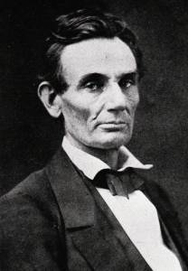 A younger, unbearded Lincoln (Courtesy of the Library of Congress, via the Ohio Valley Civil War Association).