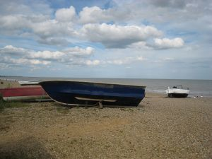 Dunwich seafront, 2007 (Courtesy Wikimedia Commons).