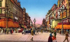 Postcard of Marseilles, 1920s (Courtesy Travel and Tourism Provence).