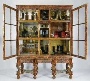 Petronella Oortman's doll's house, anonymous craftsman, 1686-1710. Petronella and her husband, Johannes, were real historical figures (Courtesy Rijksmuseum, Amsterdam).