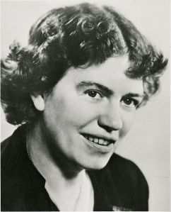 Margaret Mead in 1948 (Courtesy Smithsonian Institution Archives).