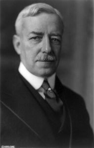 Robert Lansing, Wilson's second secretary of state (Courtesy Library of Congress).