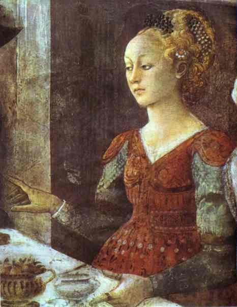 Herod's Feast, Salome's Dance, painted by Lippi between 1460 and 1464, Prato, Italy (Courtesy Wikimedia Commons).