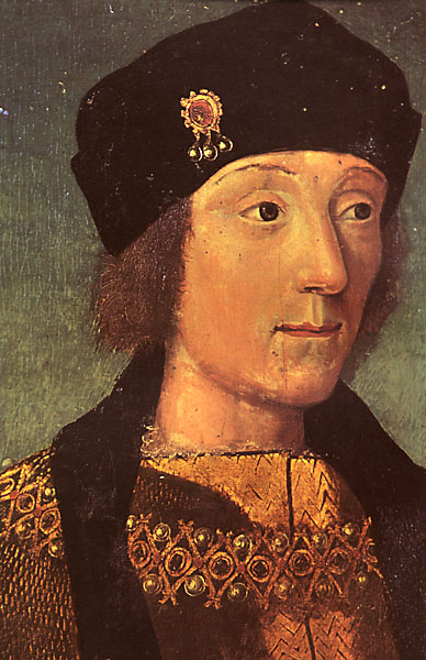 A young Henry Tudor, earl of Richmond, by an unknown French artist, painted between 1470 and 1480 (Courtesy Musee Calvert, Avignon, via Wikimedia Commons).