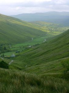 Glengesh Pass, county Donegal, northwest Ireland (Courtesy Jon Sullivan via Wikimedia Commons, public domain)