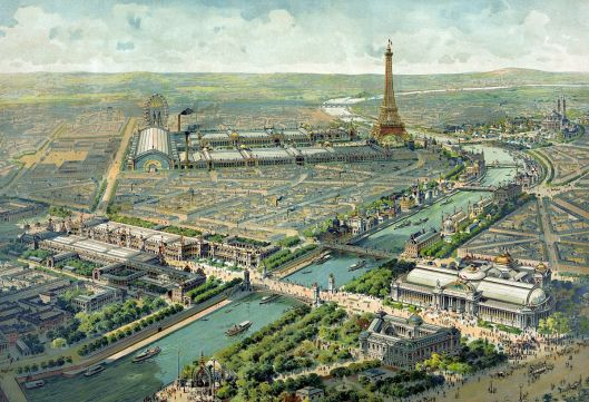 Lucien Baylac's image of the 1900 Paris Exposition, digitized in 2007 (Courtesy Library of Congress, via Wikimedia Commons)
