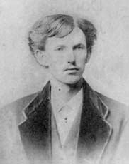 John Henry Holliday's graduation photo from the Philadelphia School of Dentistry. He was not yet twenty-one (Courtesy Wikimedia Commons; public domain)
