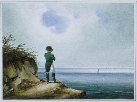 Napoléon at St. Helena, by François-Joseph Sandmann, undated (courtesy Wikimedia Commons, public domain)