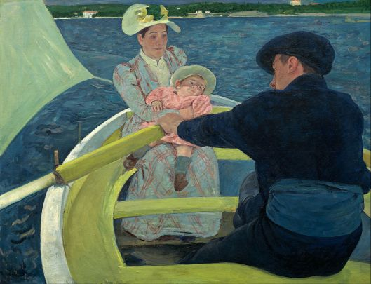 Mary Cassatt, The Boating Party, 1893-94, National Gallery of Art, Washington, D.C. (Courtesy National Gallery, Wikimedia Commons, public domain)